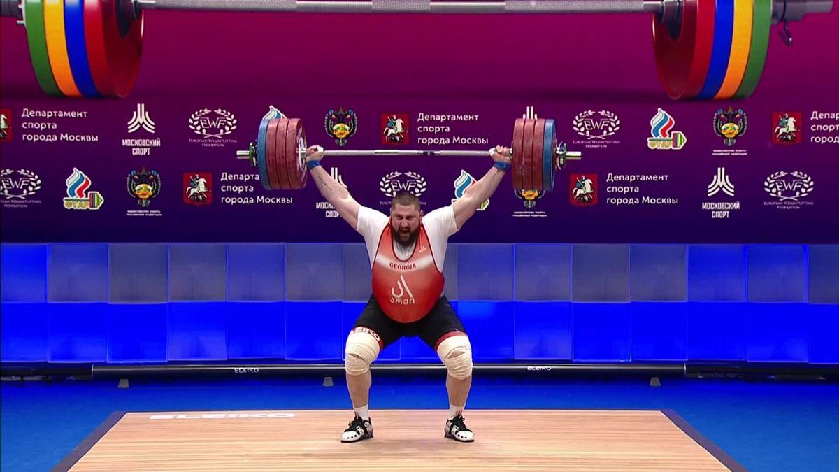 Weightlifting - TALAKADZE 222KG - World Record