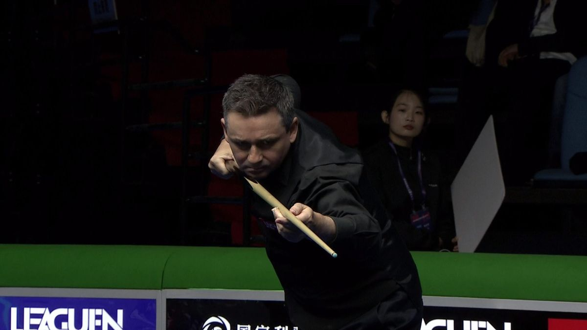 Snooker : McManus was not satisfied with his cue