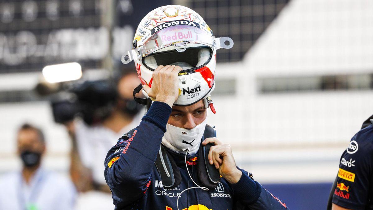 Max Verstappen (Red Bull) war enttäuscht nach dem verpassten Sieg in Bahrain