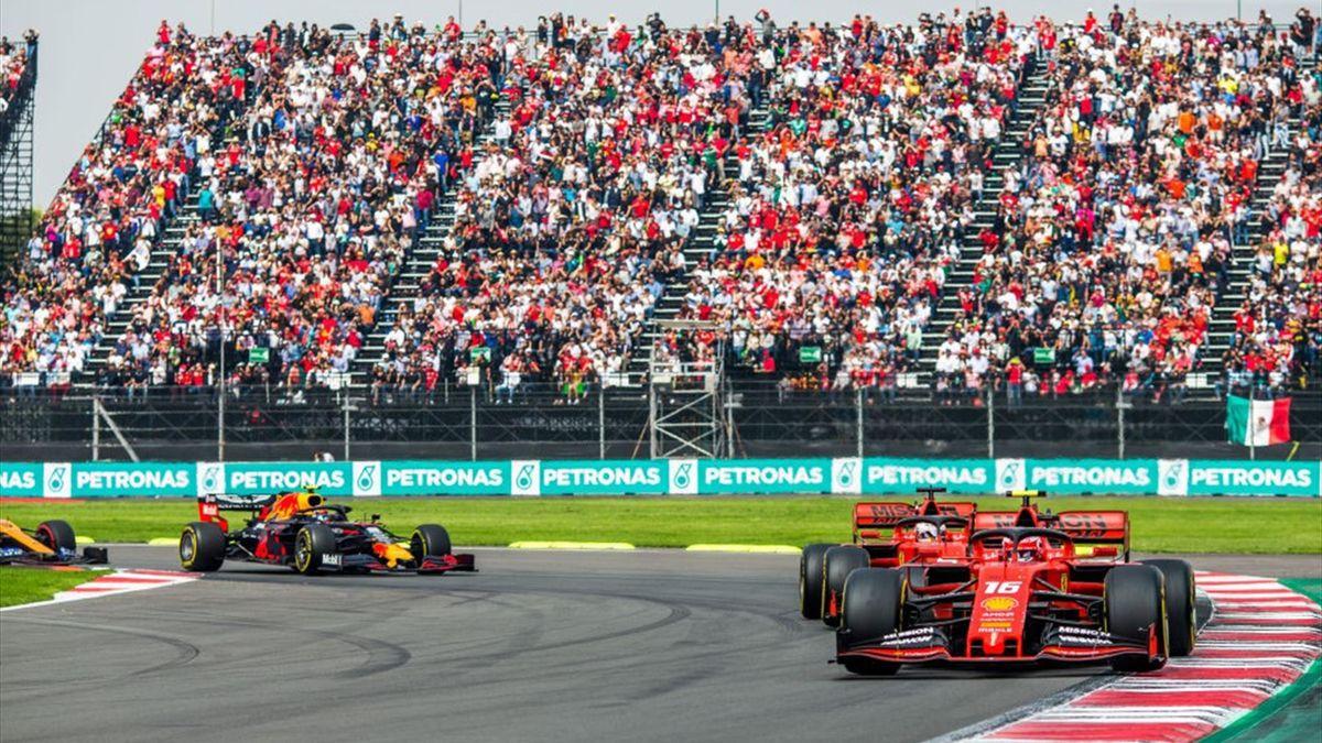 Una fase del Gran Premio del Messico 2019 di F1