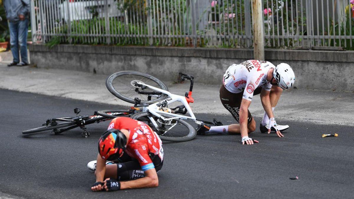 Mikel Landa e François Bidard - Giro d'Italia 2021