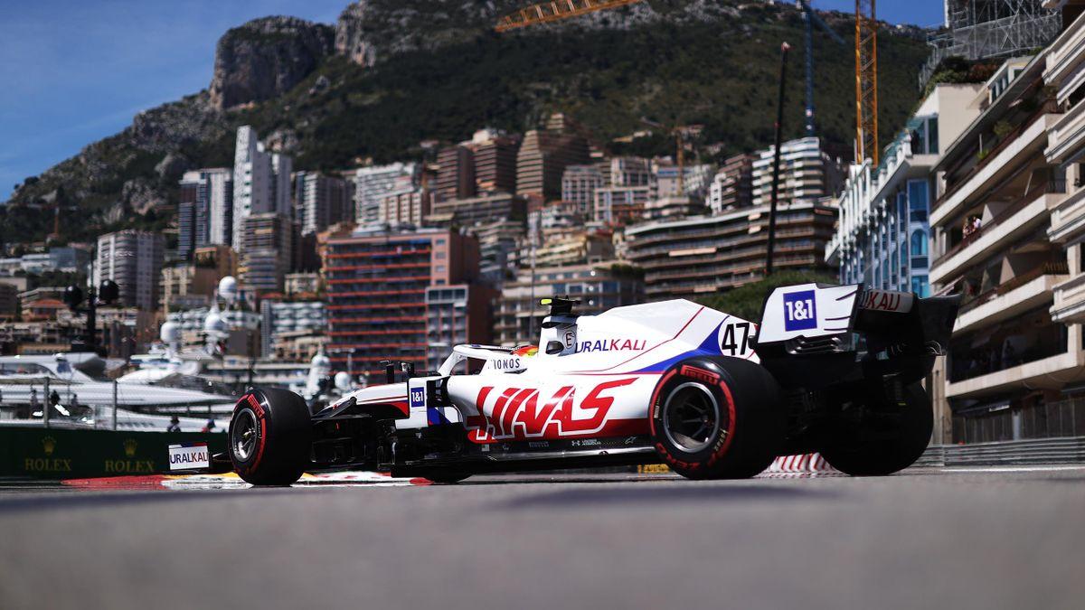 Haas-Pilot Mick Schumacher beim GP in Monaco