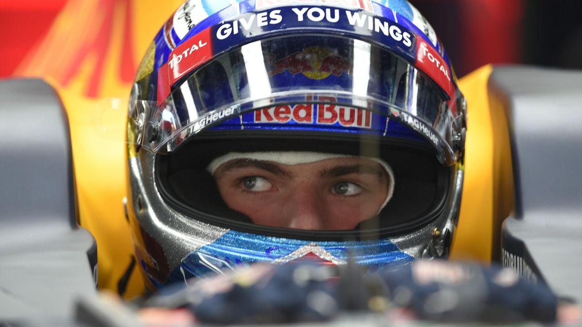 Max Verstappen (Red Bull) au Grand Prix d'Espagne 2016