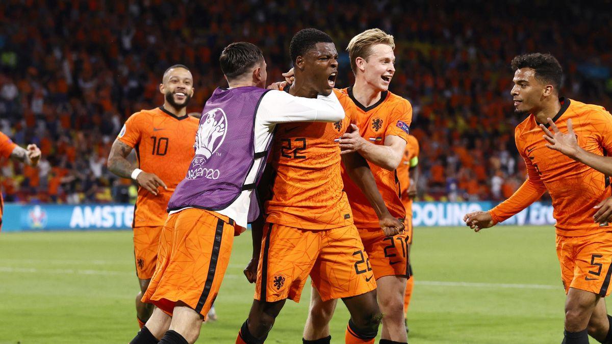 The Netherlands won a 3-2 thriller against Ukraine