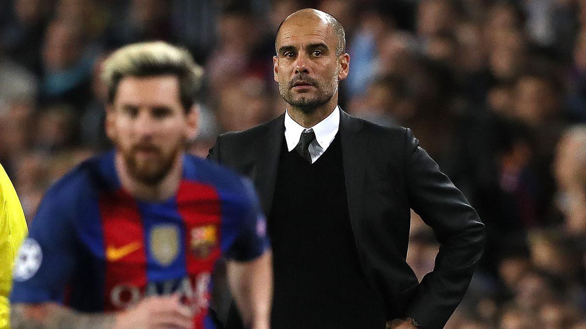 Josep Guardiola (Manchester City), Lionel Messi (Barcelona)