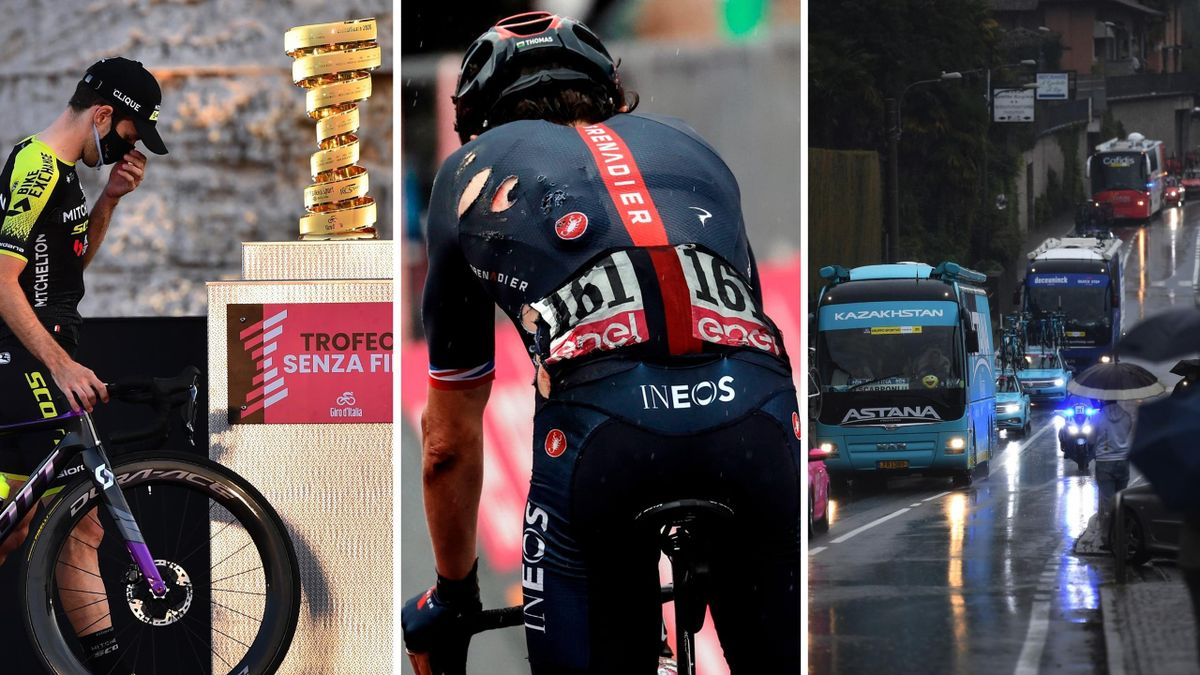How the 2020 Giro d'Italia unfolded