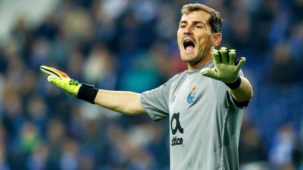 Iker Casillas im Trikot des FC Porto