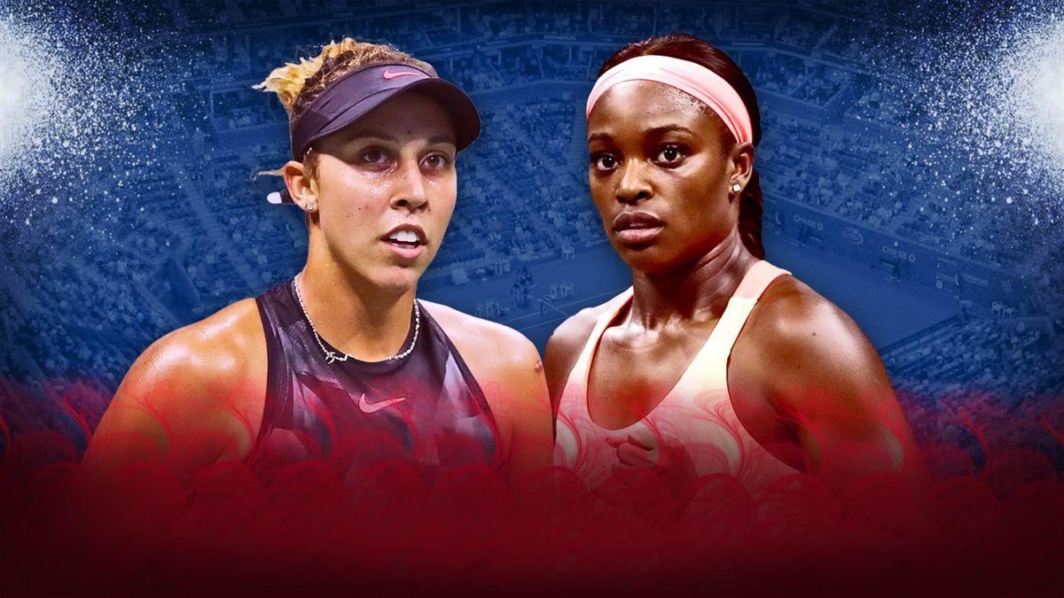 Madison Keys versus Sloane Stephens - US Open 2017