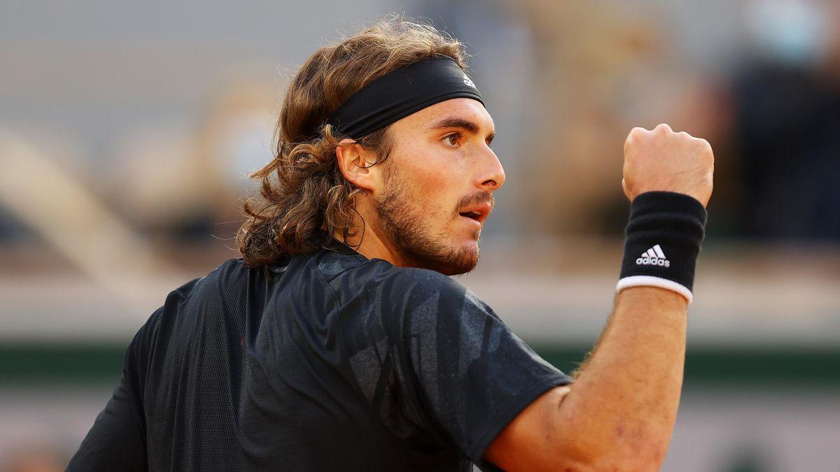 Stefanos Tsitsipas in Roland-Garros 2020