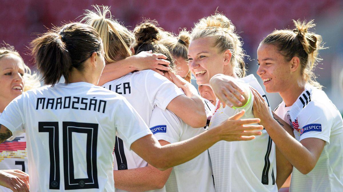 Deutsche Fußball-Nationalmannschaft der Frauen im September 2020