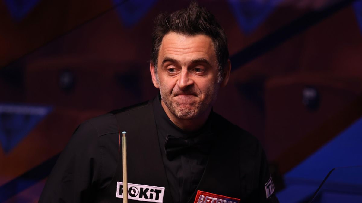 Ronnie O'Sullivan scheiterte bei der Snooker-WM 2021 als amtierender Weltmeister bereits in der zweiten Runde