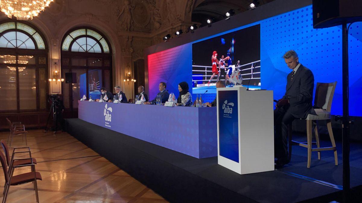 AIBA Press Conference - June 2021