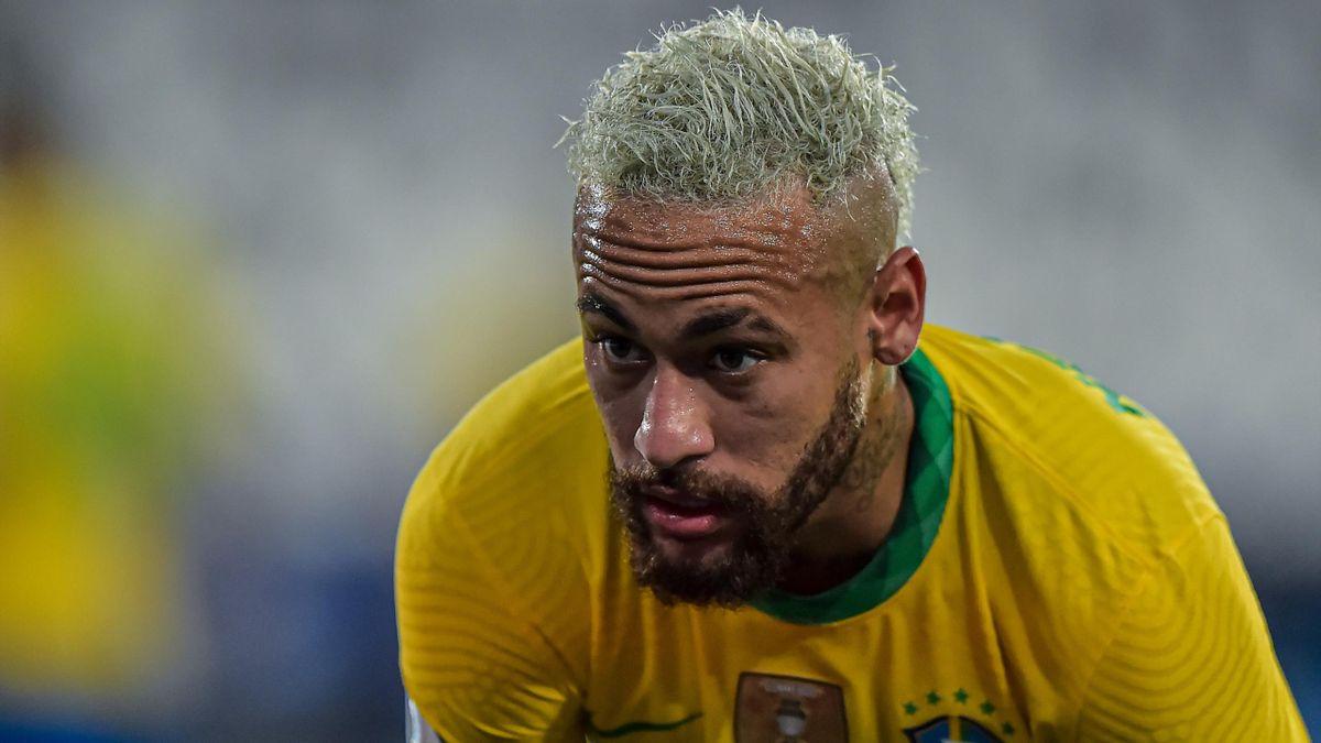 Neymar im Spiel gegen Kolumbien