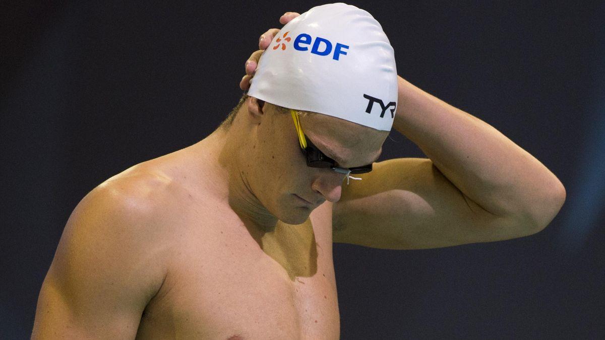 Yannick Agnel pendant les Championnats d'Europe 2014 à Berlin