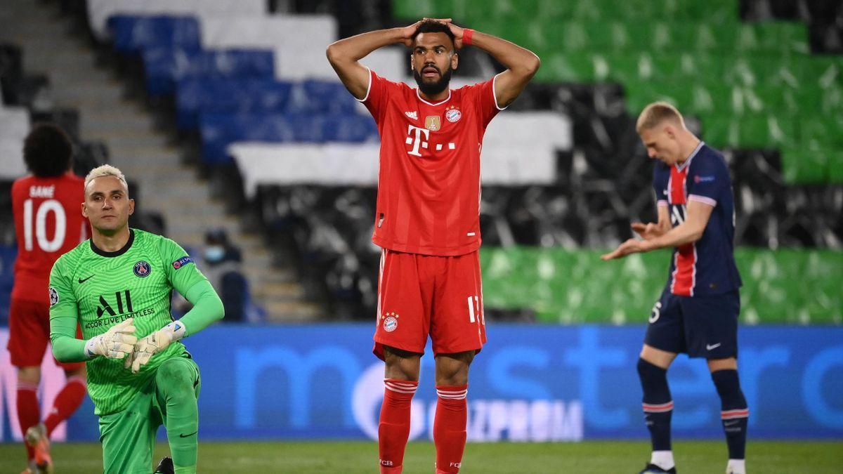Eric Maxim Choupo-Moting (Mitte) - Paris Saint-Germain vs. FC Bayern München
