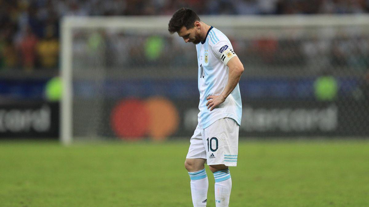 Lionel Messi bleibt im National-Dress titellos