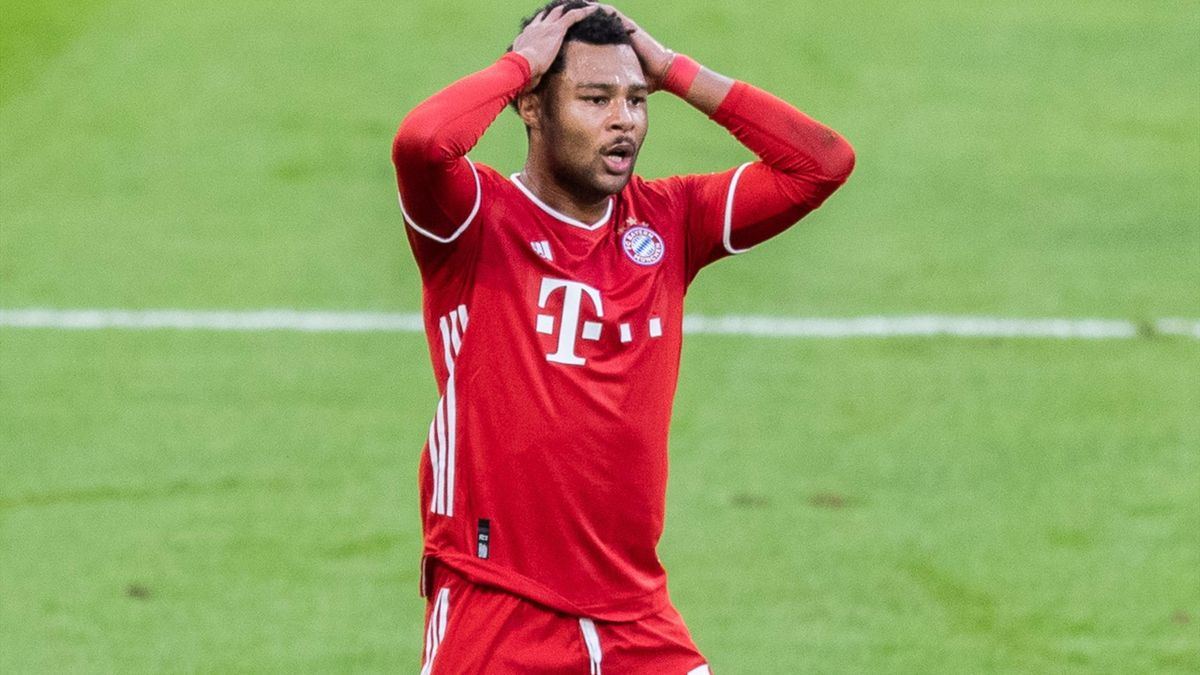 Serge Gnabry, l'ailier du Bayern Munich.