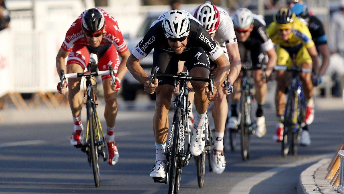Tom Boonen gana la segunda etapa del Tour de Qatar