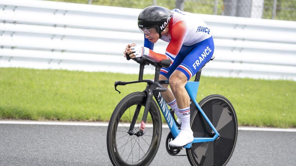Alexandre Léauté a pris le bronze mardi aux Jeux paralympiques de Tokyo dans le contre-la-montre sur route (Catégorie C2) à Tokyo