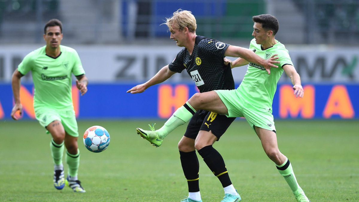 Julian Brandt im Testspiel gegen Athletic Bilbao