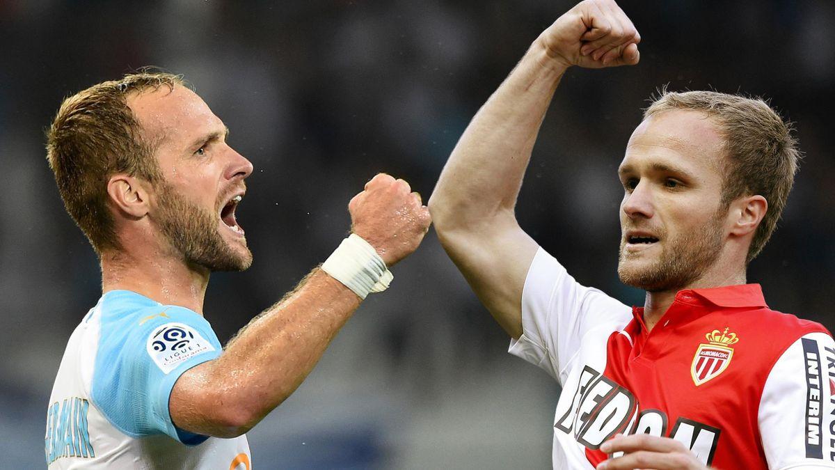 Valère Germain fait partie des 44 joueurs qui ont joué à l'OM et à Monaco.