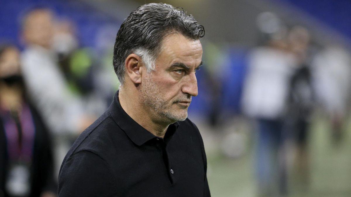Christophe Galtier, l'entraîneur de Lille.