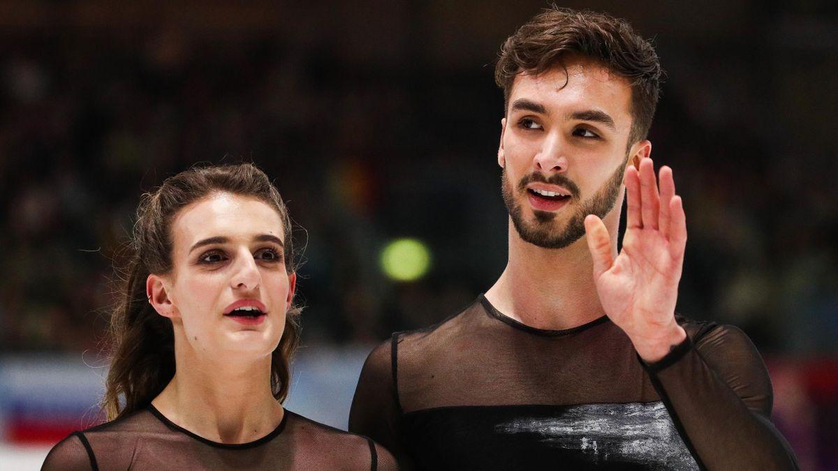 Gabriella Papadakis et Guillaume Cizeron aux championnats d'Europe 2020