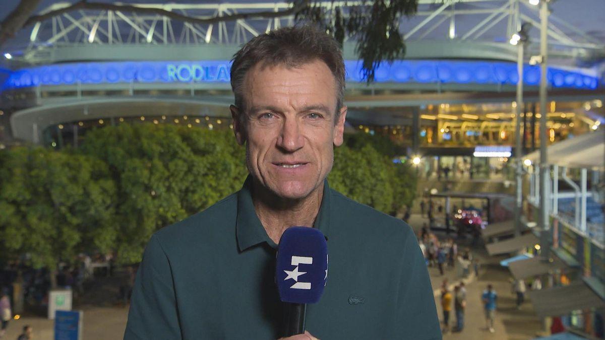 Australian Open : Wilander about Wozniacki (English)