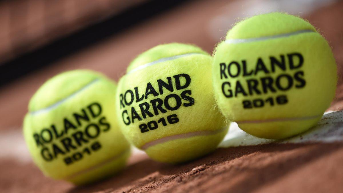 Roland Garros 2016 Feature Tennisbälle