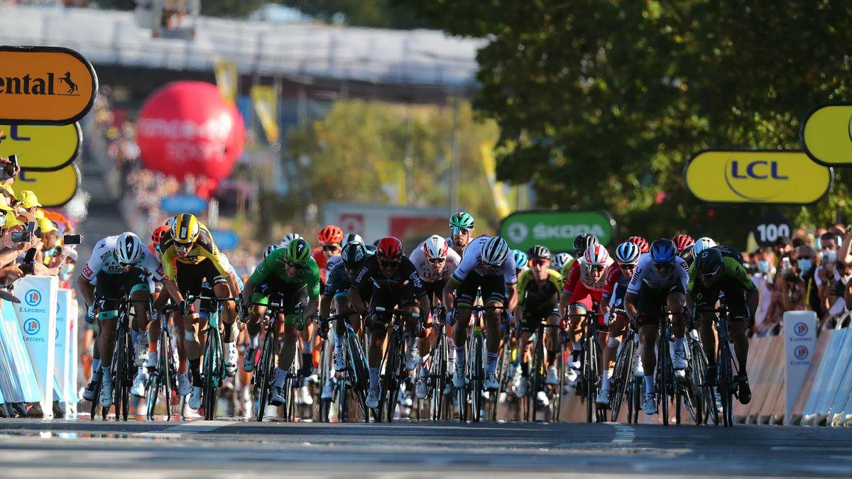 Feltets raskeste spurter under Tour de France 2020. Mange raske avslutninger venter i 2021.