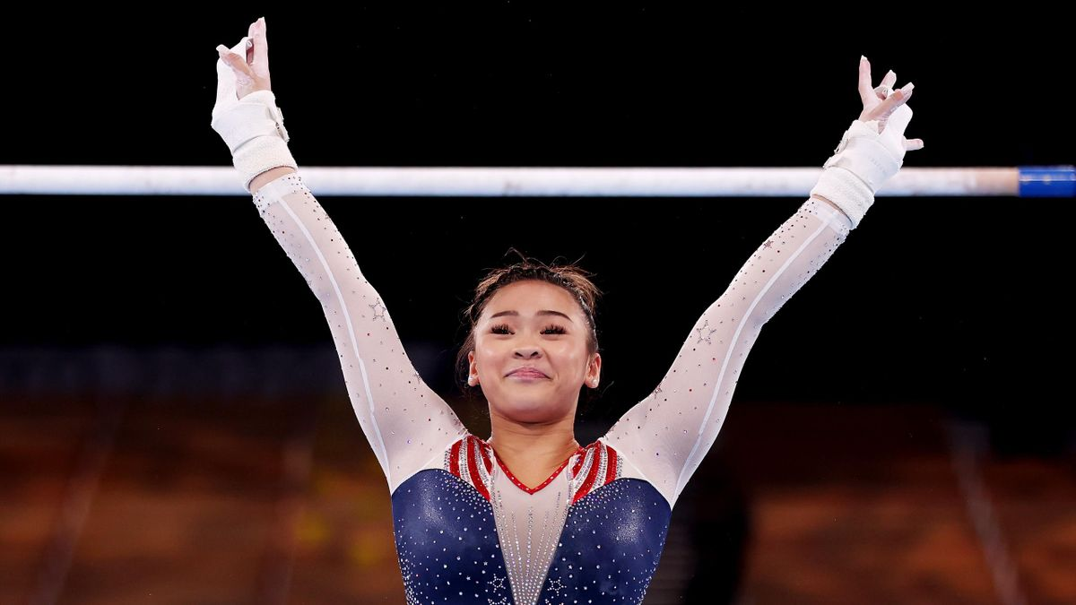 Sunisa Lee took gold for USA in the all-around competition