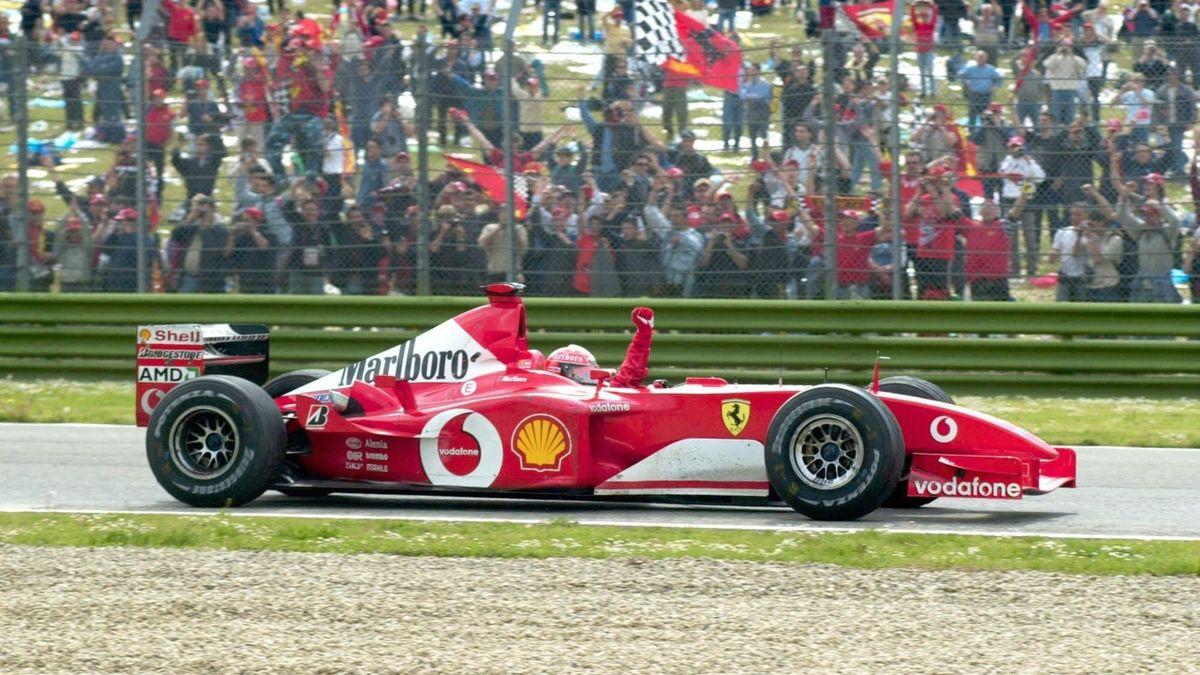 Siebenmal hat Michael Schumacher in Imola gewonnen - zuletzt wurde dort 2006 ein F1-Rennen gefahren