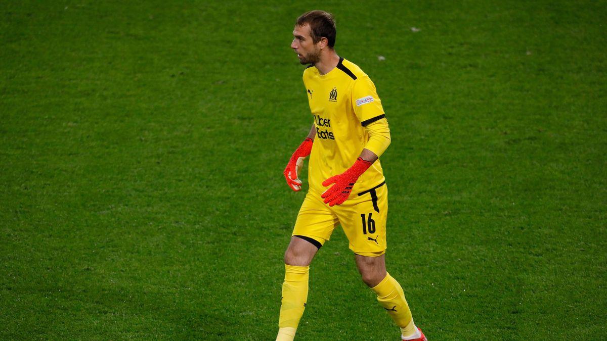 Pau Lopez, le gardien de l'Olympique de Marseille