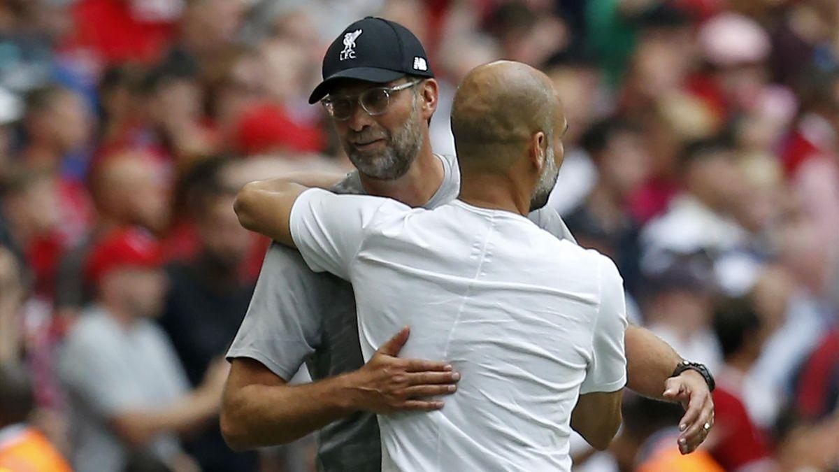 Klopp a glumit pe seama lui Guardiola, pentru care are un respect enorm