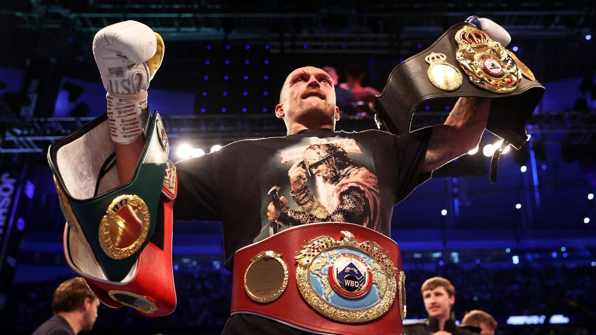 Oleksandr Usyk este noul campion al greilor