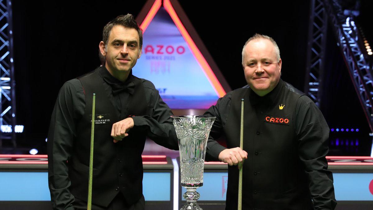 Ronnie O'Sullivan v John Higgins, Players Championship 2021, Marshall Arena, Milton Keynes, February 28, 2021