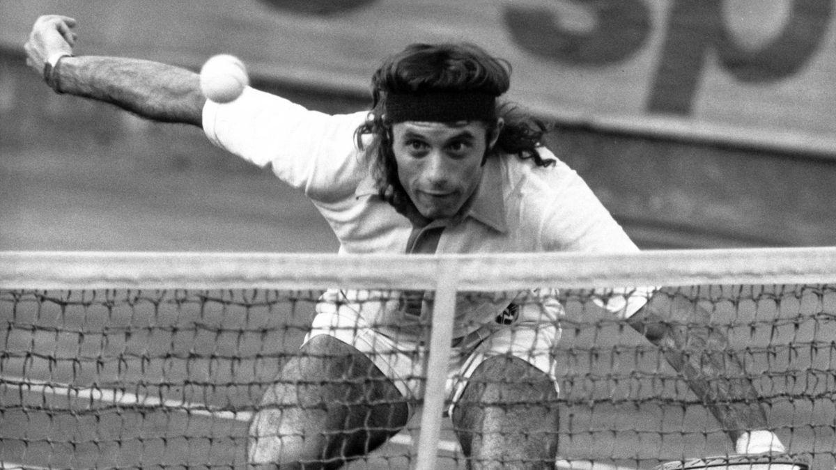 Guillermo Vilas, un maestru al tenisului, cu suflet de poet