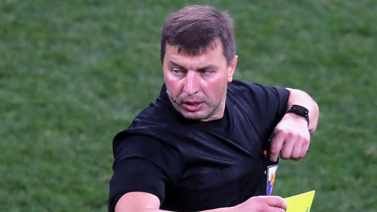 Судья Михаил Вилков, «Ахмат» – «Динамо»