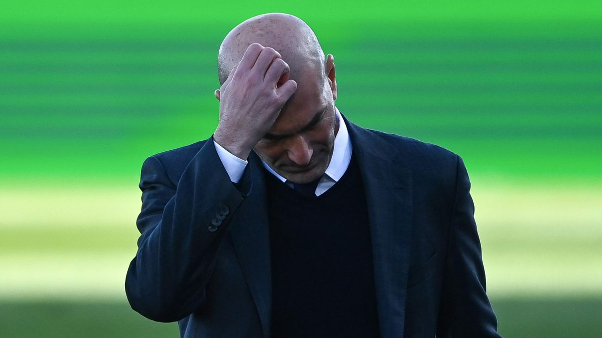 Zinedine Zidane is under pressure to keep Real Madrid's turnaround in form going