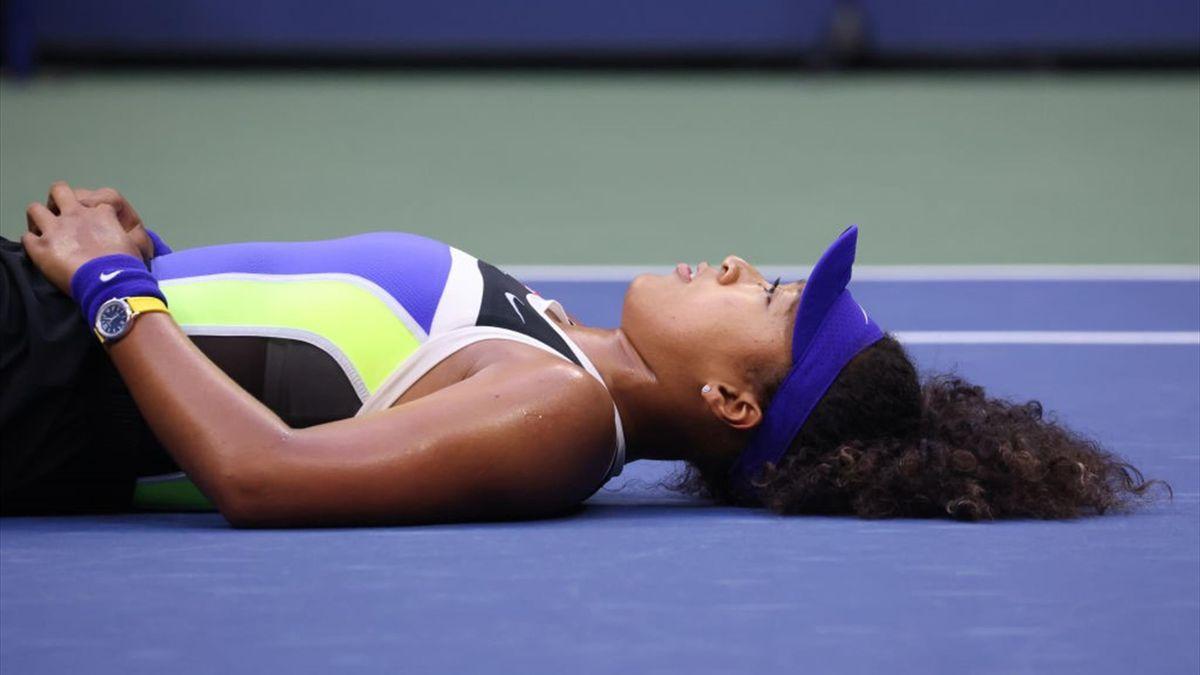 Наоми Осака после победы в финале US Open