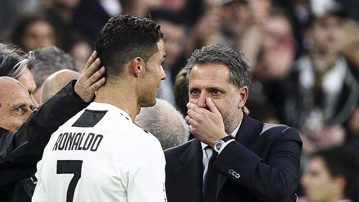 Cristiano Ronaldo e Fabio Paratici, Juventus
