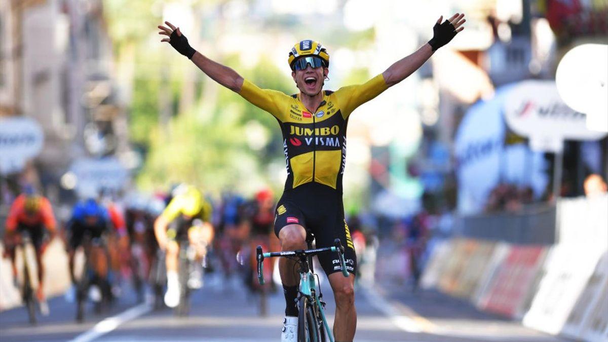 Wout Van Aert gewann in diesem Jahr Mailand - San Remo. Im nächsten Jahr will er auch bei den Olympischen Spielen den großen Coup landen