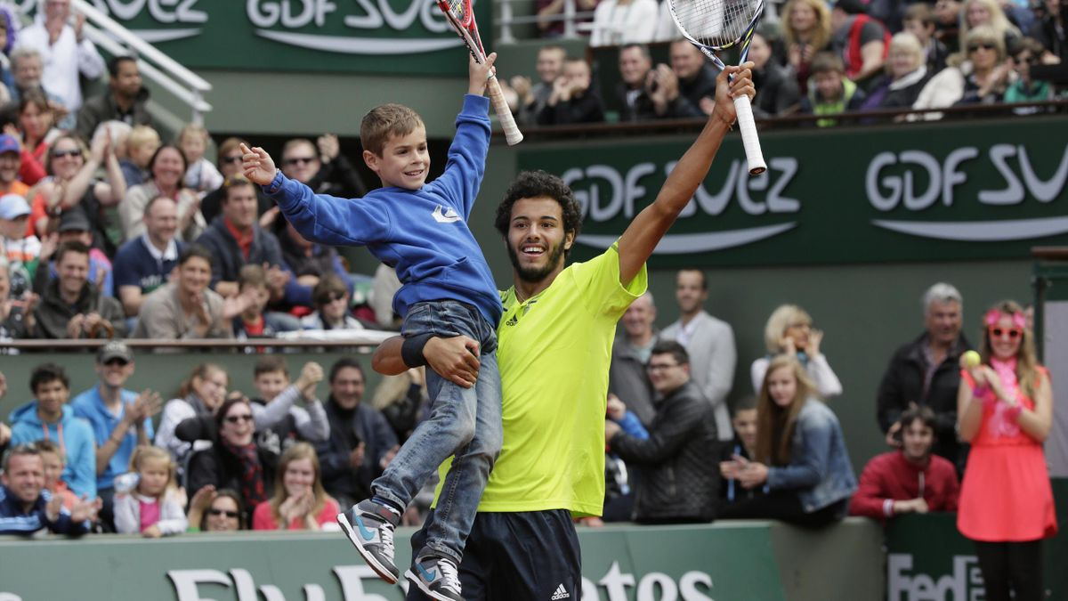 Laurent Lokoli à Roland-Garros