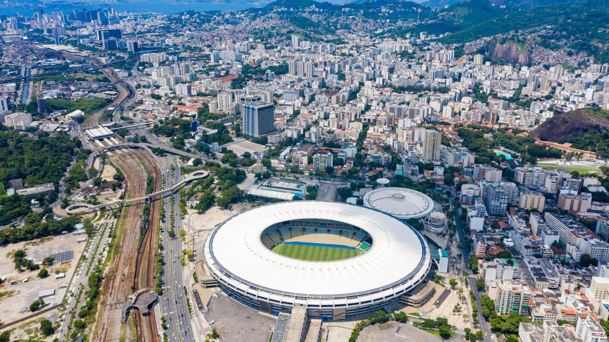 Maracana Stadium on March 12, 2021 in Rio de Janeiro, Brazil