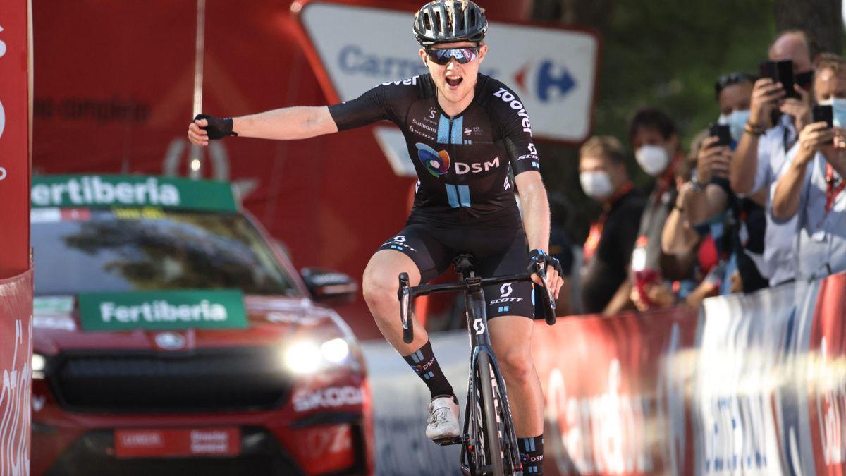 La Vuelta | Storer maakt het met ritwinst een beetje goed voor geplaagd Team DSM