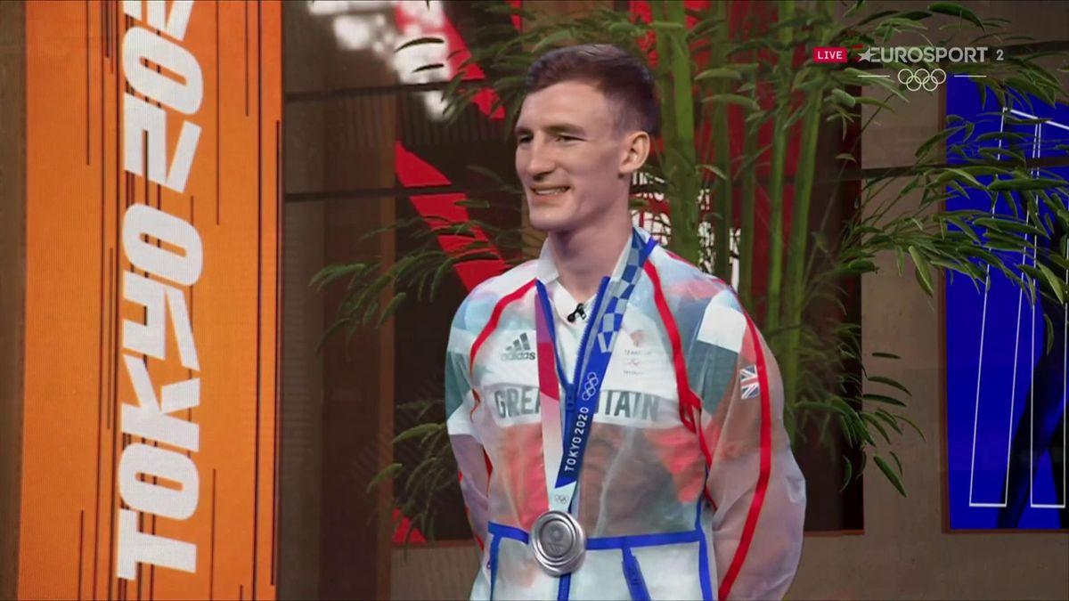 'Still raw emotions' - Sinden reveals feelings after settling for silver