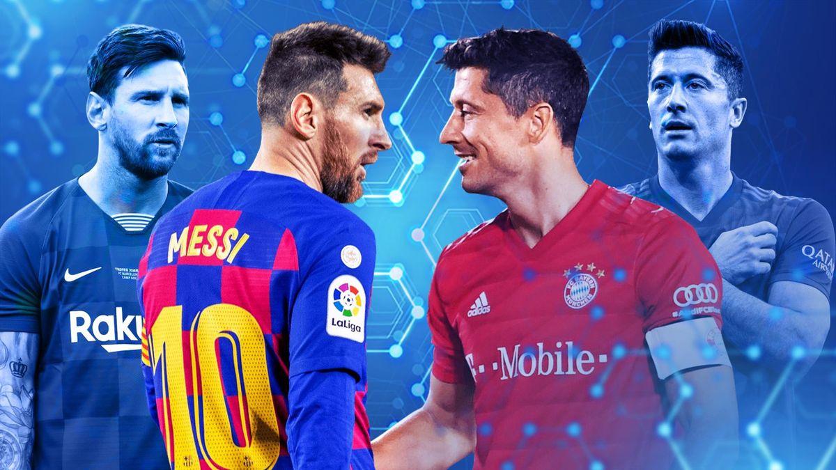 Lionel Messi et Robert Lewandowski, le duel de l'année