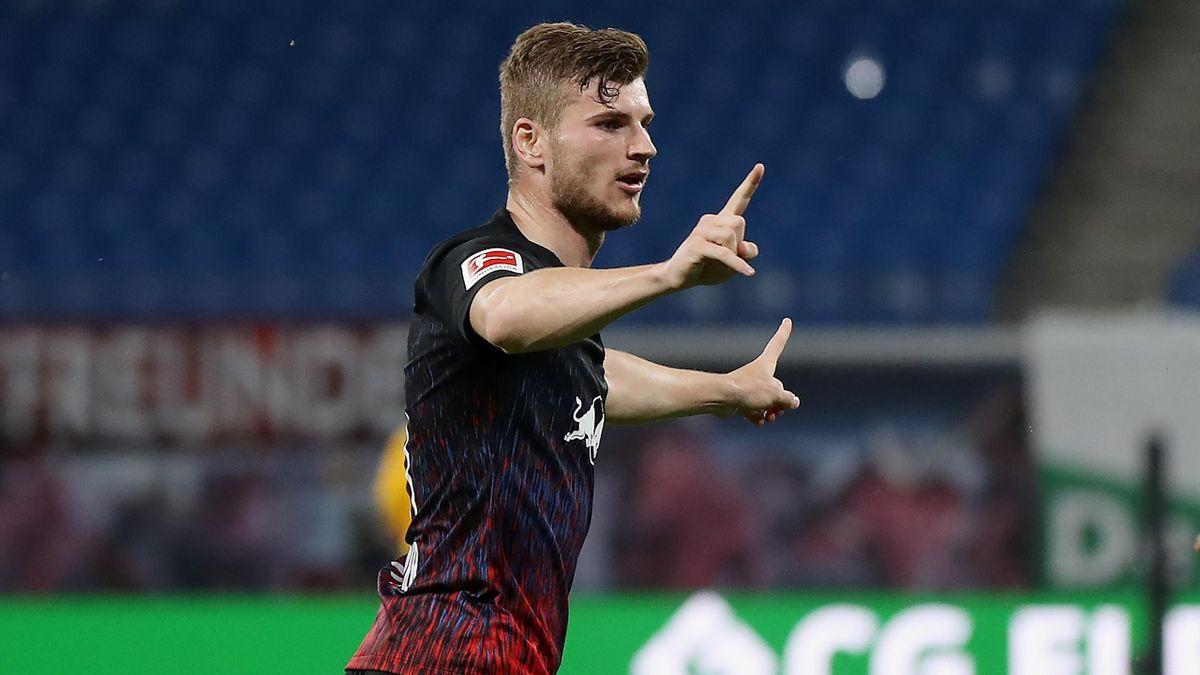 Timo Werner verließ RB Leipzig im Sommer Richtung Chelsea