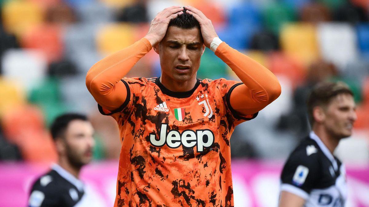 Cristiano Ronaldo ist am Verzweifeln