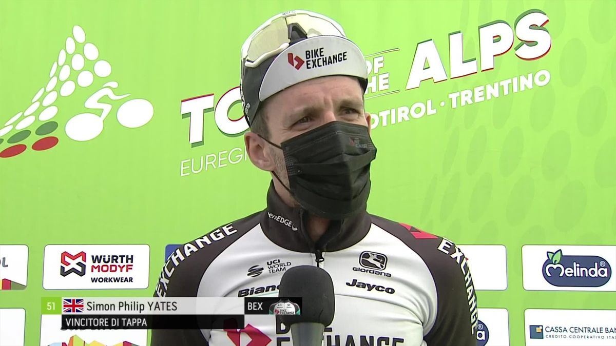 'I'm very happy' - Yates chuffed after Stage 2 win at Tour of the Alps